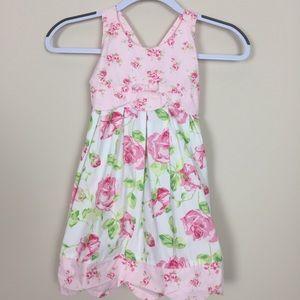Girls Sz 4T Heartstrings Pink Dress